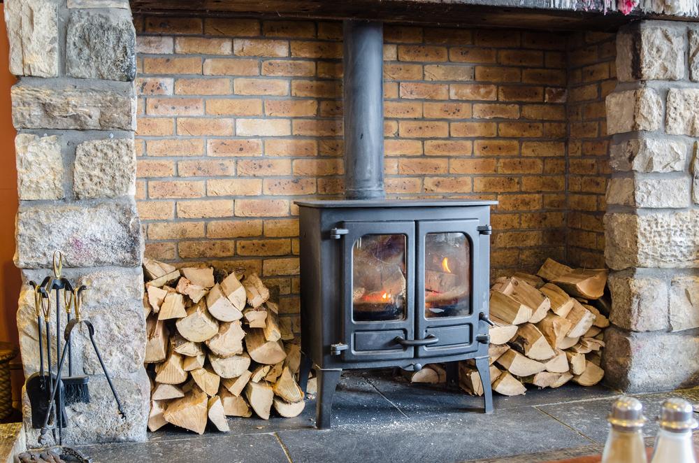 rangement feu de bois
